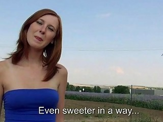 Amateur Linda Sweet screwed up for money