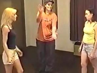 Kristy vs Amanda extreme catfight girlfight hairpulling 2