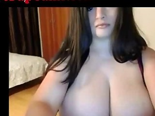 Webcam Girl With Massive Tits