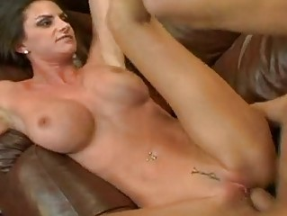 Gorgeous Amanda Emino receives a hot shower of cock milk on her mouth