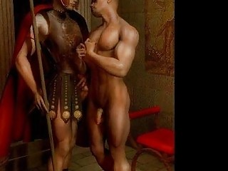 3D Muscled Gay and Straight Boys!