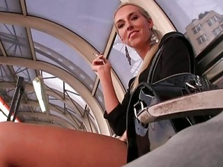 Sweet darling charms with her dick sucking