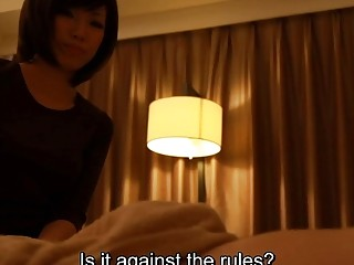 Subtitles Japanese massage handjob and sex in HD