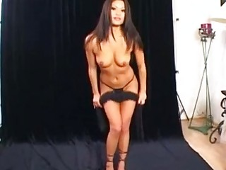 Hot Asian bitch Charmane Star is drilled up her moist twat by a thick cock