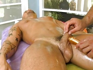 Pleasurable oral stimulation with sexy gay pair
