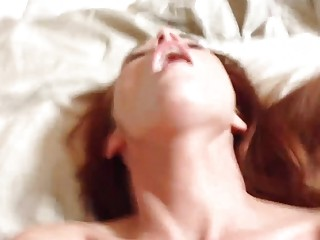 Amateur redhead slut gets fucked missionary and loves getting filmed