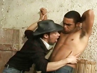 Barebacking Gay With His Hot Friend