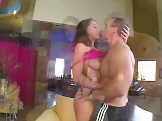 Penny Flame Hardcore Fucking Her Stepdad