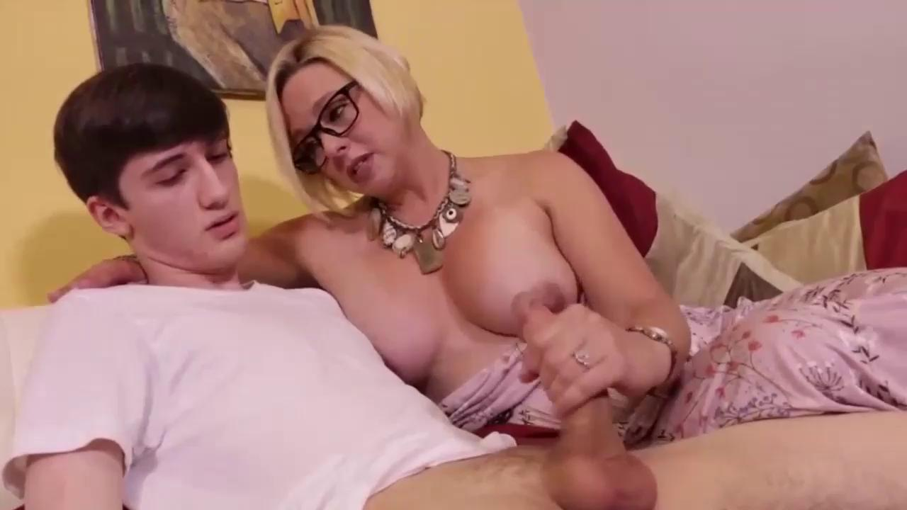 Girl Gives First Handjob